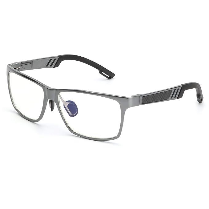ANYLUV Blue Light Blocking Glasses Women Men - Computer Gaming Glasses,Anti Eyestrain,Al-Mg Metal Frame Ultra Light... best men's blue light blocking glasses