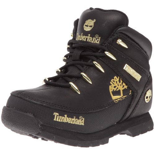Timberland Unisex-Kinder Sprint Lauflernschuhe Schwarz