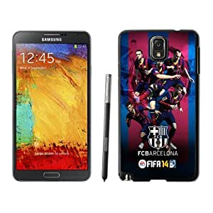 Custom and Personalized Cell Phone Case Design with FIFA 14 Barcelona Galaxy NOTE 3 N900P Wallpaper
