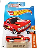 72 chevy toy truck - Hot Wheels 2016 HW Hot Trucks Custom '72 Chevy Luv 148/250, Red