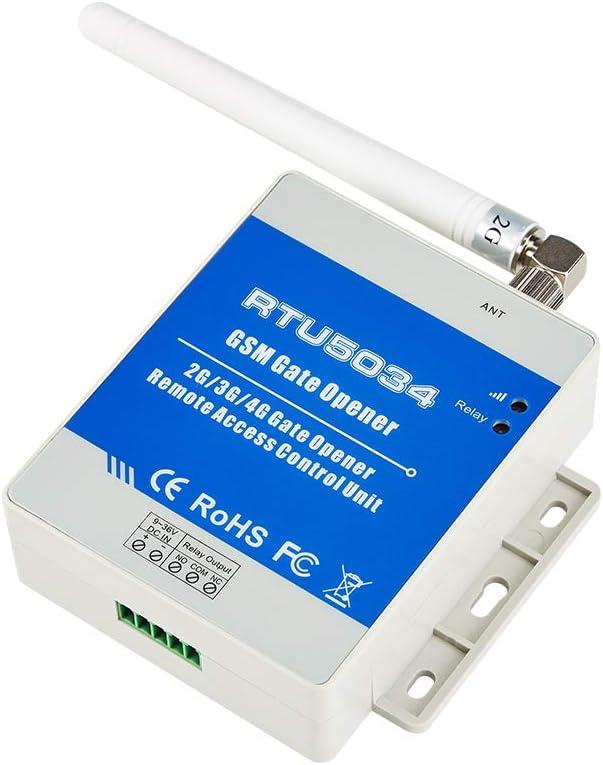 MYA - Abrepuertas GSM RTU5034 5024 2G GSM - Sistema de control de acceso remoto por interruptor