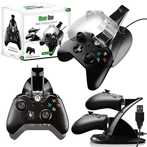 Twitfish® - Xbox One - Dual Charging Station for Xbox One