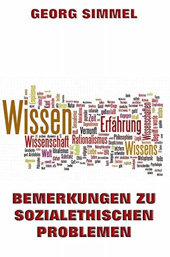 Bemerkung zu sozialethischen Problemen (German Edition)