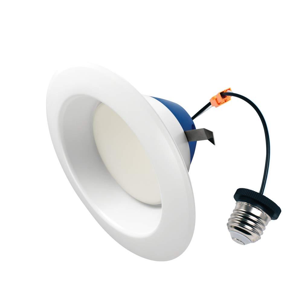 Cree Lighting TRDL6-1102700FH50-12DE26-1-11 6 inch retrofit Downlight 100W Equivalent LED Light Bulb, Soft White