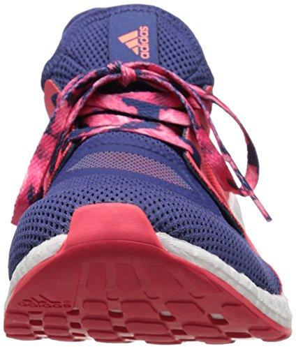 Adidas Performance Womens Pureboost X Scarpa Da Corsa Viola Grezzo / Viola Viola / Rosso Shock