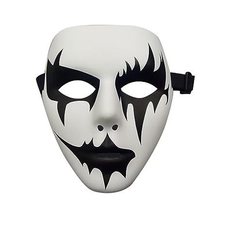 Máscara de Halloween de cara completa, de QBSM – color blanco y ...