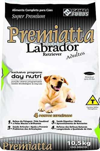 Labrador Sc 10,5kg (30x350 Grs) Premiatta Sabor Frango