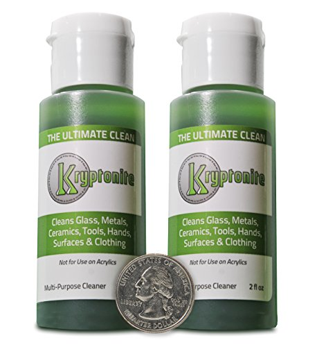 KLEAR | Travel Size Kryptonite Cleaner | Clay Based Formula| 420 & 710 Remover | 2oz Bottle