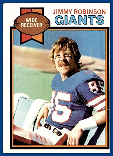 1979 Topps #431 Jimmy Robinson NEW YORK GIANTS GEORGIA TECH YELLOW JACKETS (poor, light hairline creases) ()