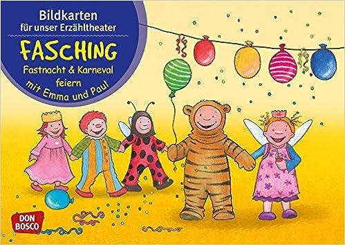 Bildkarten Fur Unser Erzahltheater Fasching Fastnacht Karneval