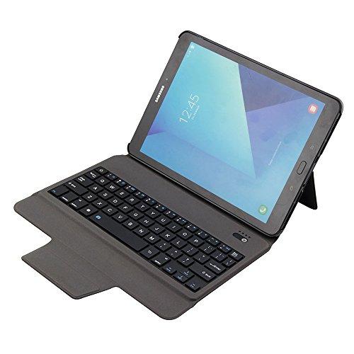 Samsung Galaxy Tab S2 9.7 Ultra Thin Keyboard Case, Galaxy Tab S2 9.7 Keyboard Folio Cover, Ultra-Thin Aluminium Keyboard Case Smart Cover for Samsung Galaxy Tab S2 9.7 [T810 /T815;T813/T819] (Samsung Galaxy Tab S2 9-7 Keyboard Case)