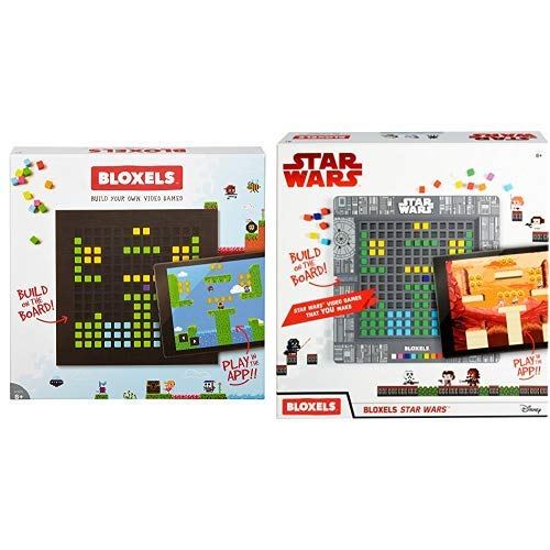 Bloxels Build Your Own Video Game AND Bloxels Star Wars Build Your Own Video Game by Mattel