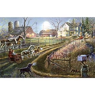 SunsOut 28424 - Meger: Pony Express - puzzle 1000 pezzi