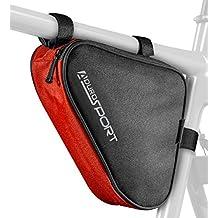 Aduro Sport Bicycle Bike Storage Bag Triangle Saddle Frame Strap-On Pouch Cycling
