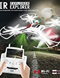 2015 New Design XINLIN X119 FPV Quadrocopter 4CH 2.4Ghz Professional Drone Helicopter Flashing Lights Quad Copter , mode 2