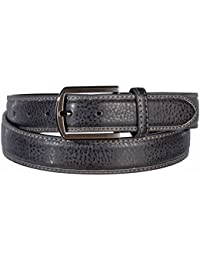 Men's Classic Modern Fashion Belts with Metallic Buckles