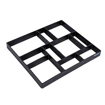 GOTOTOP - Molde para jardín, diseño de Cemento de hormigón, con Piedra de ladrillo
