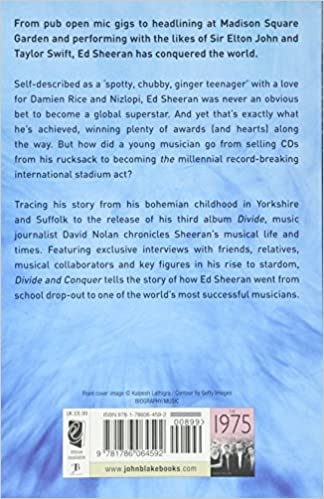 Ed Sheeran A The Unauthorized Biography