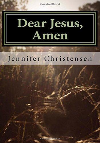 Dear Jesus, Amen. PDF