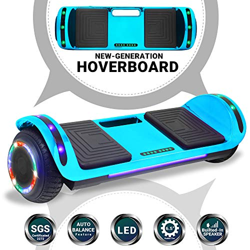 Beston Sports Newest Generation Electric Hoverboard Dual Motors Two Wheels Hoover Board Smart self Balancing Scooter…