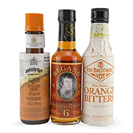 The Orange Cocktail Bitters Collection - 3 Bottles 3 This Complete Collection Includes the Best Brands of Orange Cocktail Bitters. Get Fee Brothers Orange Bitters, Regan's Orange No. 6 and Angostura Orange for one low price! Add Depth and Flavor to Your Cocktails.