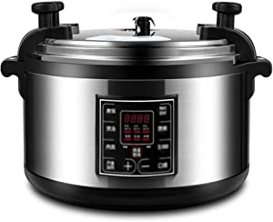 ZBQ Pressure Cooker, Electric Pressure Cooker Instant Programmable Pot, Slow Cooker, Steamer, Sauté, Rice Cooker, Yogurt Maker, Cake Maker, High Capacity,26L