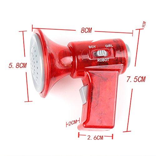 Fdrirect 1PCS Mini LED Voice Changer Loud Superbright Toy For Children Kids