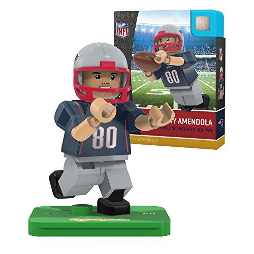 NFL New England Patriots Gen4 Limited Edition Danny Amendola Mini Figure, Small, White