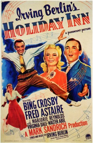 Holiday Inn Movie Poster (1942)
