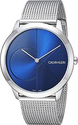 Calvin Klein Mens Minimal Watch - K3M2112N