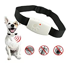 BleuMoo Ultrasonic Mosquito Bug Pest Repellent Repeller Dispeller Dog Cat Pet Collar