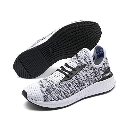 Puma AVID Evoknit Mosaic Evolution Sneaker White-black-sodalite Blue
