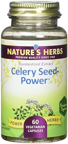 Nature s Herbs Zand, Celery Seed Power Capsule, 60 Count