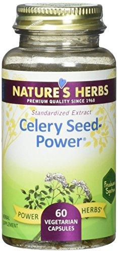 Nature's Herbs Zand, Celery Seed Power Capsule, 60 Count Celery Seed Power Natures Herbs