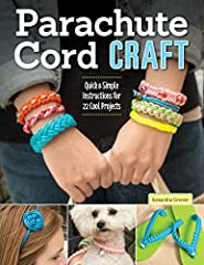 Learn to weave and braid versatile parachute cord in an array of fashion colors to create attractive, useful accessories!                       22 cool projects for making bracelets, dog collars, key fobs and more         Step...