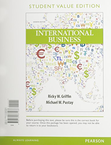 International Business, Student Value Edition Plus NEW myiblab with Pearson eText -- Access Card Package
