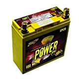 Stinger SPV20 300 AMP 12V Power Series Dry Cell Battery with Protective Steel Case for Systems up to 600W
