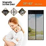 Tker Magnetic Screen Door Instant Hands Free Magic Mesh Anti Fly Mosquito Bug