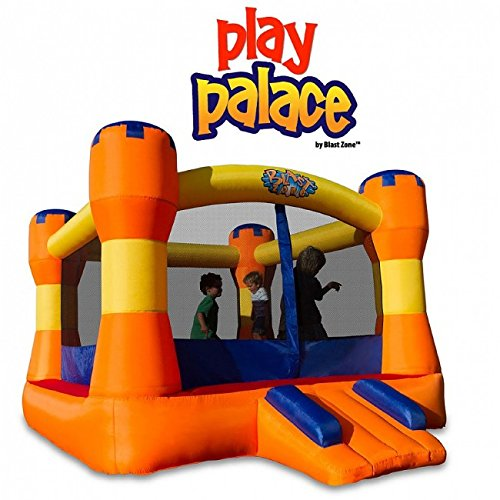 Blast Zone Play Palace Inflatable Bounce House by Blast Zone by Blast Zone