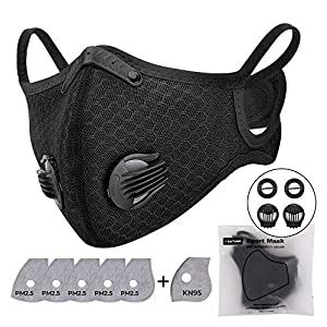 1 Pack Anti-pollution Cycling Face Cover with...