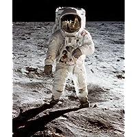 Foto Neil Armstrong astronauta Buzz Aldrin Moon Walk