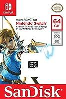 Sandisk 64GB microSDXC UHS-I Card for Nintendo Switch - SDSQXAT-064G-GN6ZA