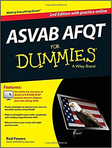 ASVAB AFQT For Dummies, with Online Practice Tests (For