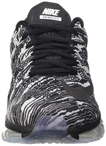 buy cheap professional outlet the cheapest NIKE Men's Air Max 2016 Print Running Shoes White/Black-black quality free shipping msEKD2