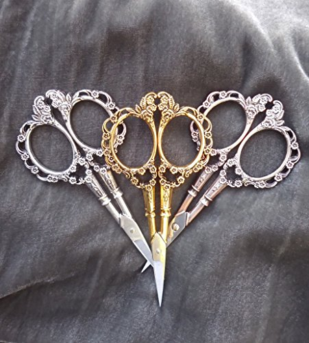 victorian-style-floral-embroidery-scissors-antique-copper-antique-brass-antique-nickel