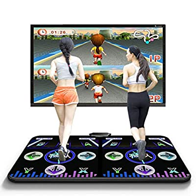 Dance mat Quality 2020 Game, 170 Running Game PC-TV Dual-use Interface Game Tv 200 Songs Wireless Two People Home Somatosensory Dancing Machine -2020: Home & Kitchen