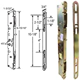 Multi-Point Mortise Lock and Keeper, 9-7/8-Inch,