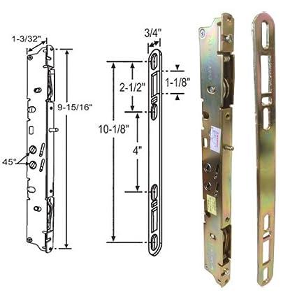 Multipunto y Keeper – Cerradura, 9 – 7/8-inch, 45 DEG