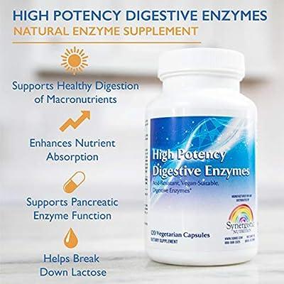 Amazon.com: Enzimas digestivas de alta potencia - Suplemento ...