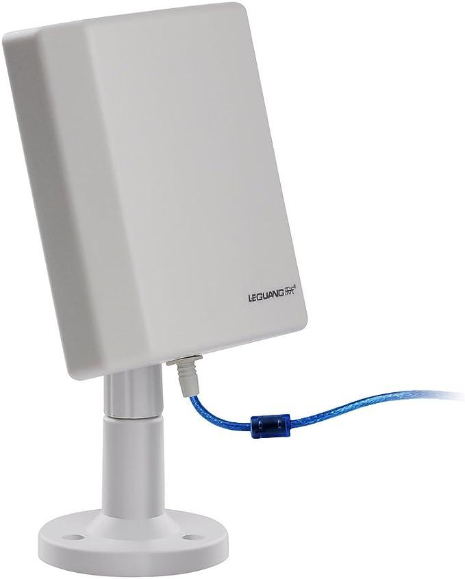 VicTsing [Amplificador WiFi] Interno/Externo 150 Mbps WiFi Booster Antena inalámbrica Amplificador de señal Hot Spots A Larga Distancia con Cable USB ...